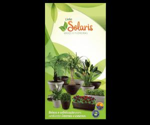 Linha Solaris Vasos e Floreiras: Catálogo de Produtos 2016/2